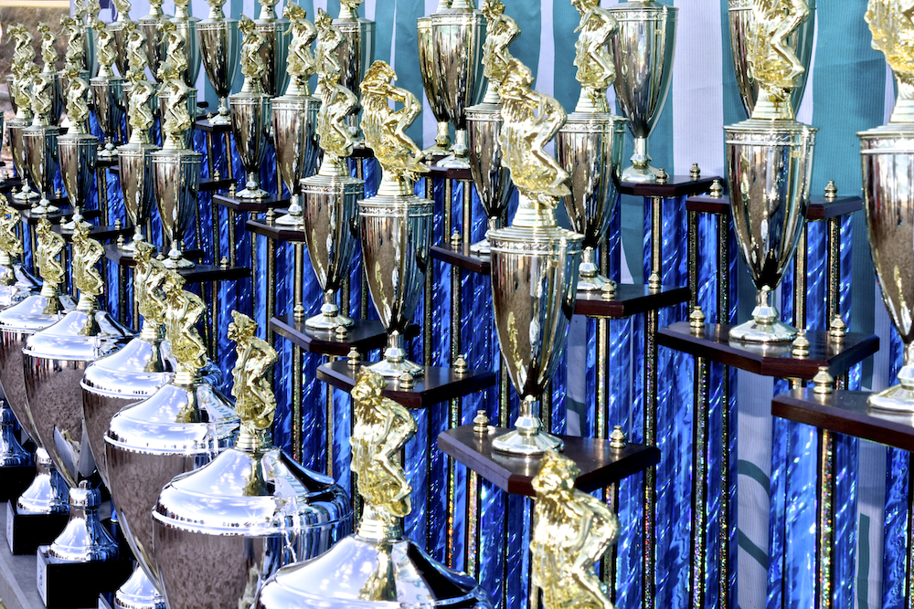 ASF Championships trophies
